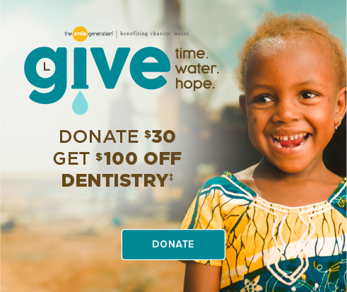 Donate $30, Get $100 Off Dentistry - Queen Creek Smiles Dentistry and Orthodontics